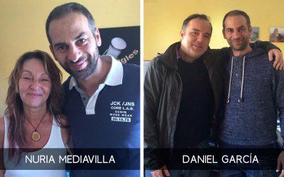 Daniel García y Nuria Mediavilla en Todojingles.