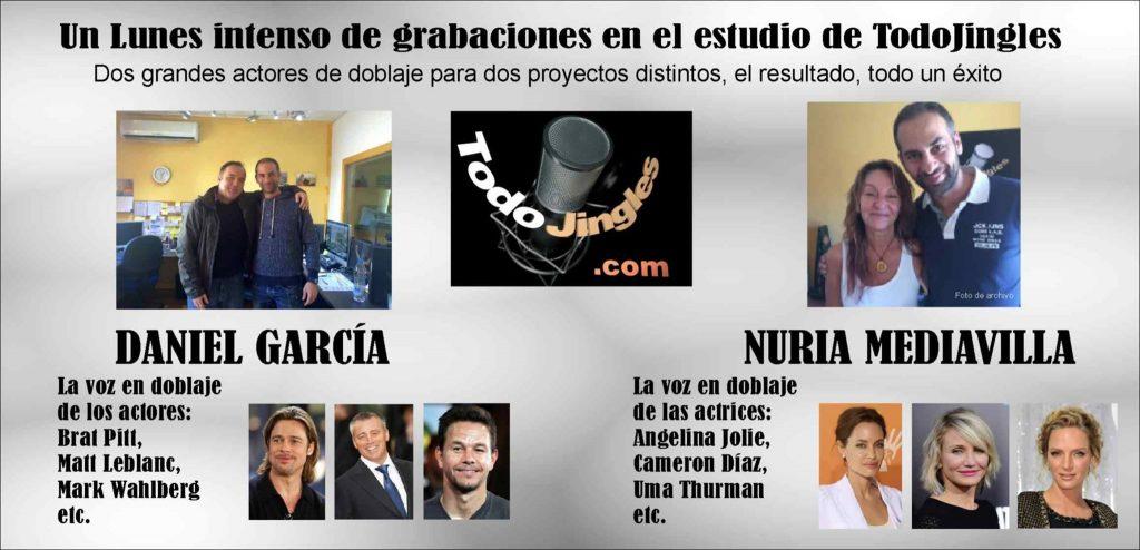 Todojingles con Nuria Mediavilla y Daniel García - Doblaje