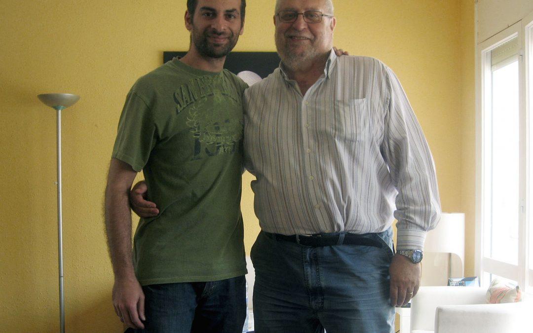 Camilo García, actor de doblaje, visita TodoJingles.