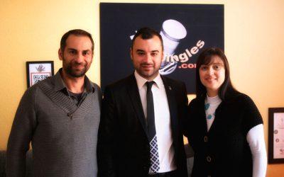 Jordi Ballart visita Todojingles (Alcalde de Terrassa)