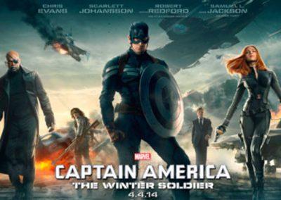 Presentación de la película El Capitán América, The Winter Soldier.