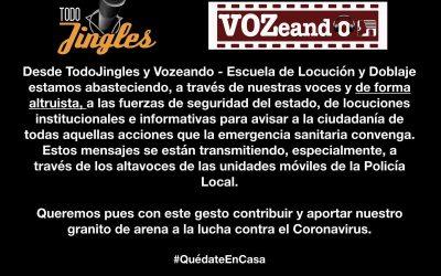 Nos unimos al hashtag #QuédateEnCasa