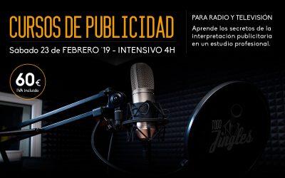 Curso Intensivo de Locución para publicidad de radio y televisión – 24 de Febrero 2019