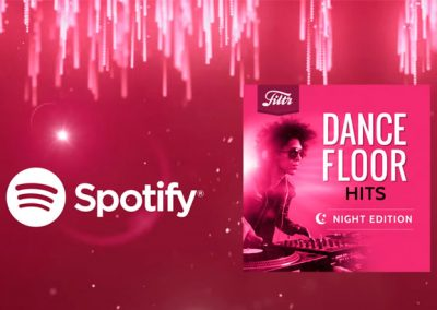 Sony Dance Floor Hits Night Edition for Spotify